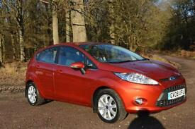 2009 FORD FIESTA 1.25 Zetec 5dr [82] ONLY 17,000 MILES