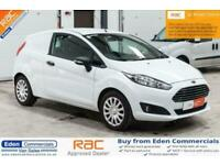 ad699081043c93 2013 62 FORD FIESTA 1.4 1.4 TDCI 1D 69 BHP DIESEL CAR DERIVED VAN WHITE