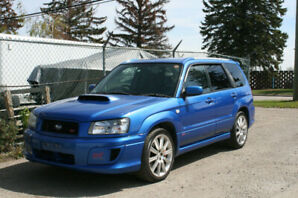 Jdm 2004 Subaru Forester SG9 STI Turbo 6-Speed (VF41) RHD