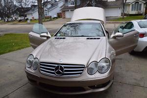 2003 Mercedes-Benz SL-Class 500 Convertible Edmonton Edmonton Area image 1