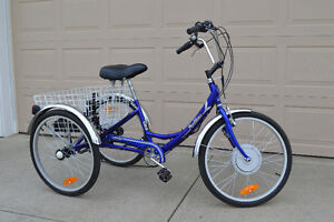 Norco Parklane Adult Tricycle with Electric Motor