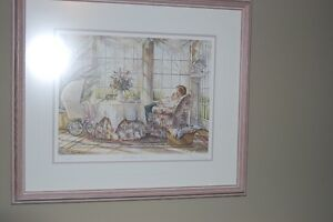 "SEVERAL TRISHA ROMANCE Framed  Prints  "" 4 - SALE """