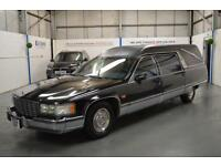 CADILLAC FLEETWOOD BROUGHAM 5.7 V8 Auto HEARSE FUNERAL CAR, LHD AMERICAN px swap