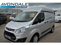 2014 FORD TRANSIT CUSTOM 310 TREND HIGH ROOF LWB L2 H2 VAN WITH AIR-CON AND PRO
