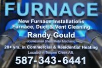 25 yrs. in HEATING & FURNACE installs, replacements & service