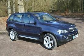 2005 BMW X5 3.0d Sport 5dr Auto ONLY 57,000 MILES FBMWSH