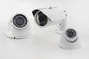 4 HD Security Cameras&DVR installed --WOW $799