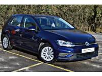 2017 Volkswagen Golf S 1.6 TDI 115PS Diesel blue Manual