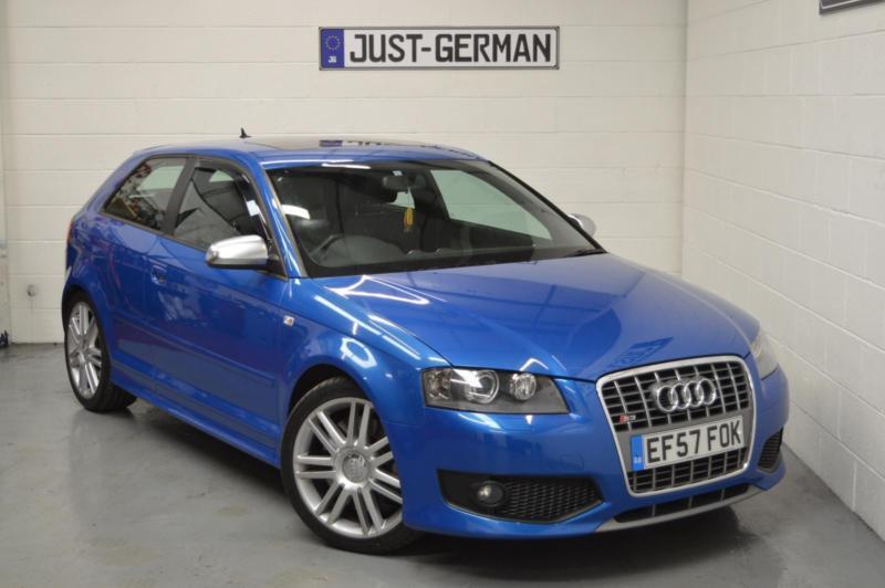2007 57 audi s3 2 0 tfsi quattro 3 door sprint blue a3 t fsi s line r32 in wigan. Black Bedroom Furniture Sets. Home Design Ideas
