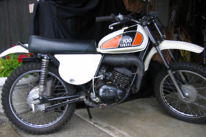 Wanted 1975 Yamaha MX 100