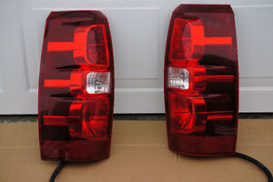 2008-2013 Chevrolet Avalanche/Tahoe/Suburban Tail Lights