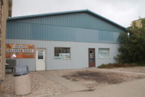 Industrial Building for Sale in Roblin, MB currently Repair Shop