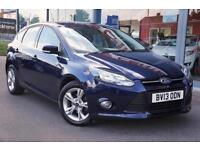 2013 FORD FOCUS 1.6 TDCi Zetec ECOnetic GBP0 TAX, DAB, CRUISE and NAVIGATION