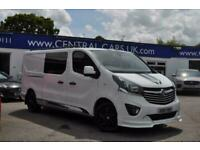 2018 Vauxhall Vivaro 2900 1.6CDTi BiTurbo 145PS H1 Ltd Ed Nav D/Cab PANEL VAN Di