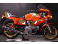 1980 DUCATI 500 PANTAH SL CLASSIC LOTS OF HISTORY