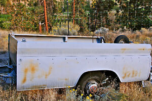 3/4 Ton 1965 Chev pick-up utility trailer