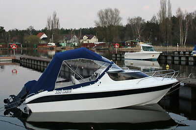 Cabin Boat Fishing Remus 550 18ft High Quality Motor Dinghy Cruiser River Yacht