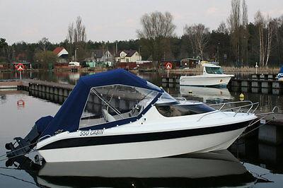 Cabin Boat Fishing Polport 550 17ft High Quality Motor Dinghy Cruiser Yacht