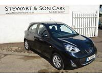 2014 14 NISSAN MICRA 1.2 ACENTA 5 DOOR HATCH WITH VERY VERY LOW MILES ONLY 5,900