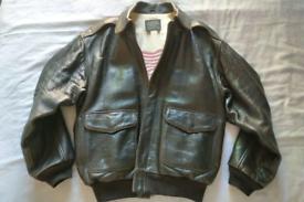Avirex Leather Flight Jacket