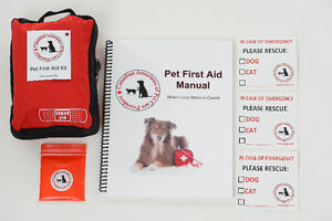 Pet First Aid Emergency Home Pack for dogs and cats