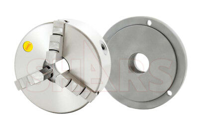 Shars 6 3 Jaw Self Centering Lathe Chucks 2 Pcs Jaw Set 1-12-8 Back Plate