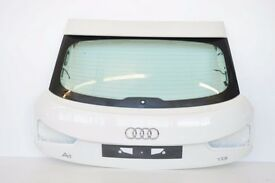 Audi a1 tailgate white mint part complete