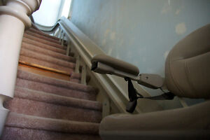 "A Lightly Used/Newer Elite ""Bruno"" Stair Lift for Sale Peterborough Peterborough Area image 2"
