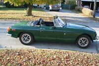 1974 MGB, Roadster Convertible