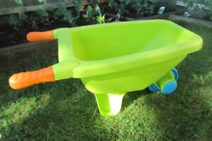 Push-barrow for a toddler