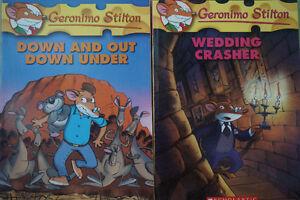 8 Geronimo Stilton Books #22-29 New Condition