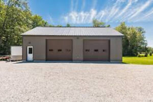 Garage, barn , shop or space required
