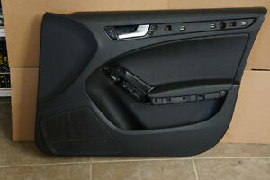 AUDI 2009-2011 A4  FRONT RIGHT LEFT SIDE DOOR PANEL BLACK