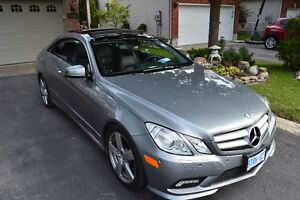 2 door coupe Benz E350 fully loaded 7-speed sport package