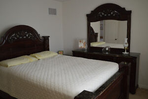 Bed set for sale - moving out