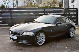 2006 BMW Z4M COUPE SAPPHIRE BLACK IMOLA RED LEATHER FBMWSH 3 KEYS FINANCE M3