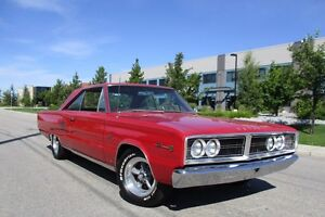 1966 DODGE CORONET 500 426 HEMI REAL DEAL WITH BUILD SHEET