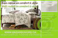 Sommier neuf+Garantie/ Prix fabricant/ New box spring