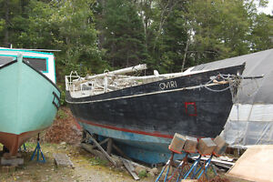 Boat Hull For Sale, Engine Included