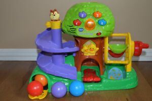 Count and Roll Tree Made by  Vtech.