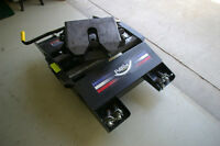 Almost New 24k Pullrite Auto Slide Hitch w/Capture Plates