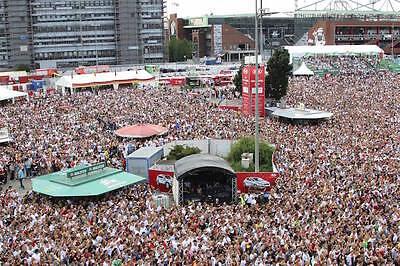Das Heiligengeistfeld ist bei Fußball-Großereignissen immer gut gefüllt. Super Stimmung garantiert. (Foto: Imago)