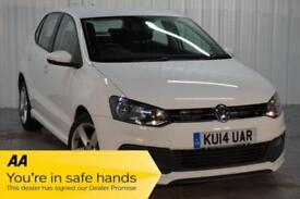 2014 14 VOLKSWAGEN POLO 1.2 R-LINE STYLE AC 5D 69 BHP