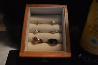 The fine jewelry ring set