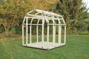 2x4 basics shed kit for 7' x 8' barn type shed