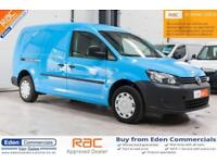 2013 62 VOLKSWAGEN VW CADDY MAXI 1.6 C20 TDI DIESEL EX BRITISH GAS PANEL VAN