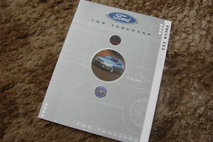 2000 Ford Focus ZX3  Brochure