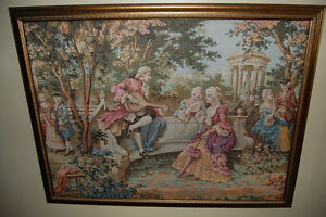 Antique/vintage tapestry picture