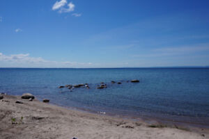 FOR SALE: WATERFRONT COTTAGE WITH PRIVATE SAND BEACH