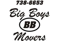 Big Boys Movers ... Full time Swamper!!